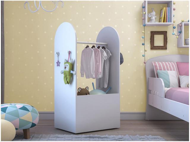 Imagem de Roupeiro Infantil com Caixa Organizadora