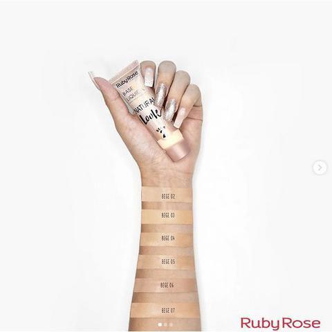 Imagem de Ruby Rose - Base Líquida Natural Look 29ml