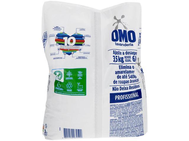 Imagem de Sabão em Pó Omo Lavanderia Perfect White - Profissional Concentrado 3,5kg