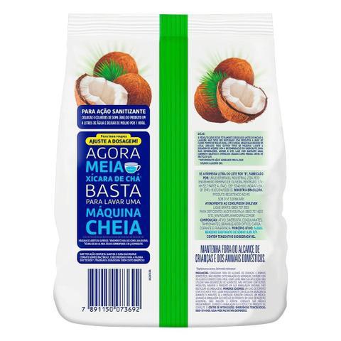 Imagem de Sabão em Pó Surf Cuidado do Coco Sanitizante Saco 1,6Kg Embalagem com 7 Unidades