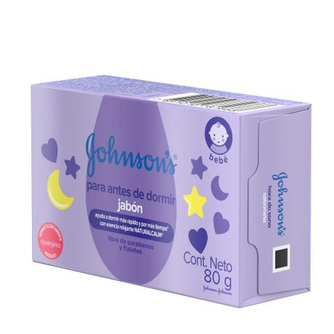 Imagem de Sabonete Barra Hora do Sono Johnson's Baby 80g