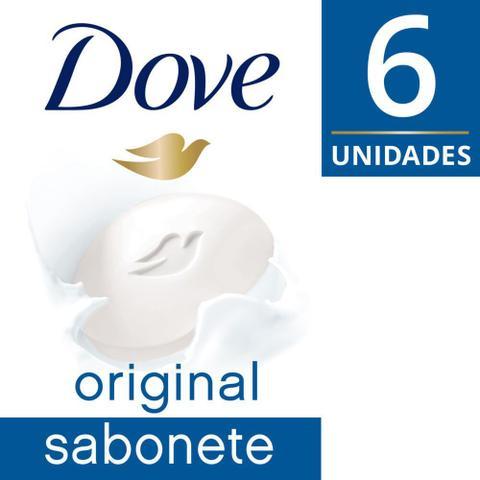 Imagem de Sabonete Dove Original com 6 Unidades de 90g cada Leve Mais Pague Menos