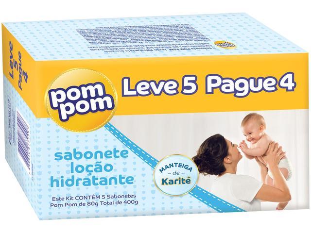 Imagem de Sabonete Infantil Pom Pom Hidratante 80gr