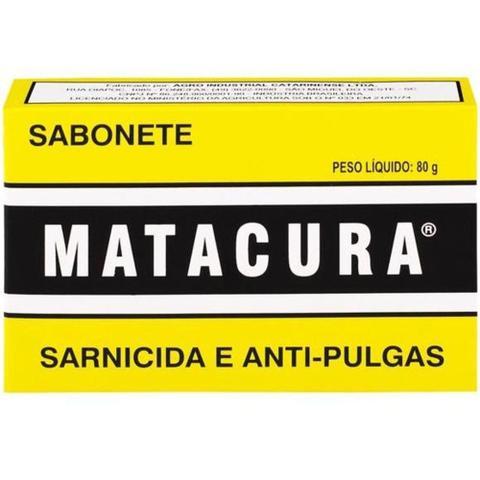 Imagem de Sabonete Matacura Sarnicida e Anti-pulgas 80g