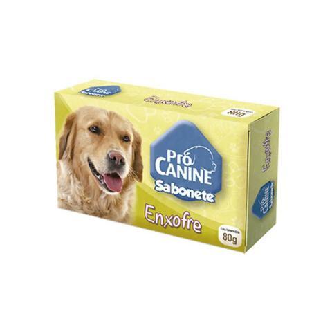 Imagem de Sabonete Pro-Canine Enxofre 80G Sarnicida Antipulgas