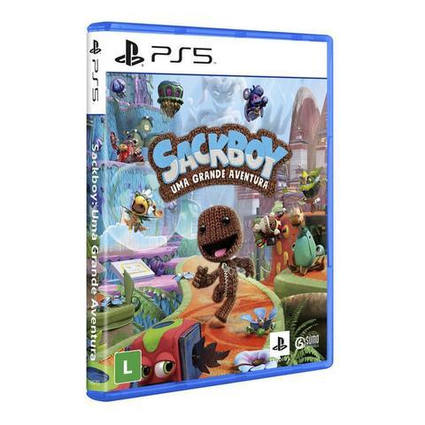 Jogo Sackboy: uma Grande Aventura - Playstation 5 - Avent