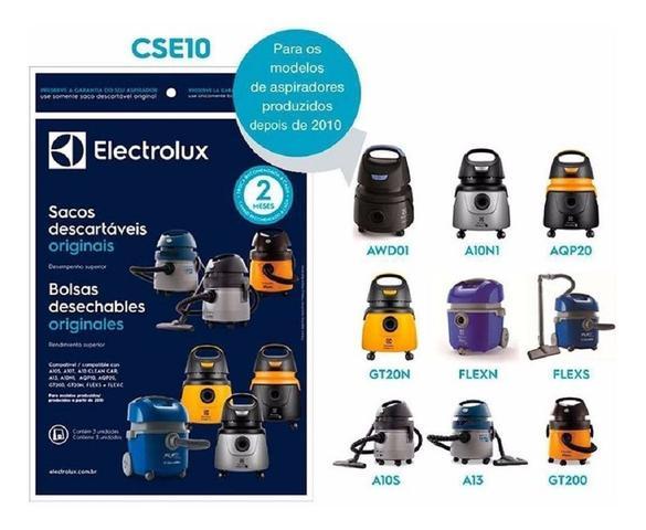 Imagem de Saco Coletor Filtro Descartável para Aspirador Electrolux A10 S Smart