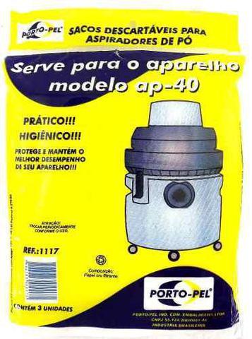 Imagem de Saco De Aspirador Po Descartavel Eletrolux Hidrolux Ap40