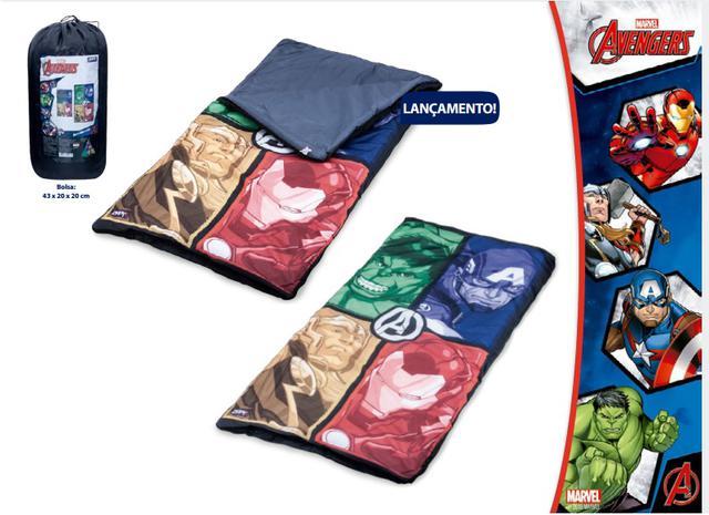 a523bed674980 Saco de dormir Infantil Avengers Vingadores Zippy Toys - Saco de ...