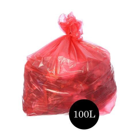 Imagem de Saco de Lixo Comum Vermelho 100LTS PCT C/100 UN