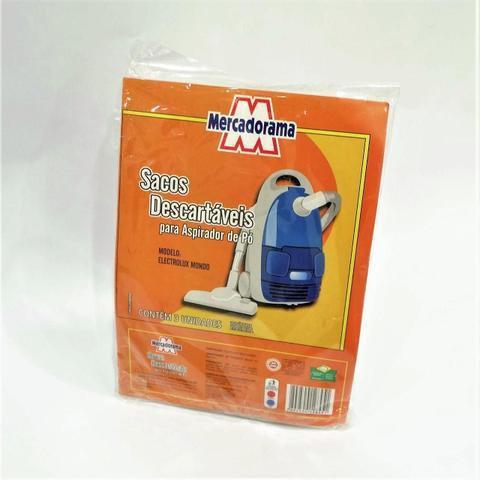 Imagem de Saco de papel descartavel para aspirador de po 3 UN MONDO