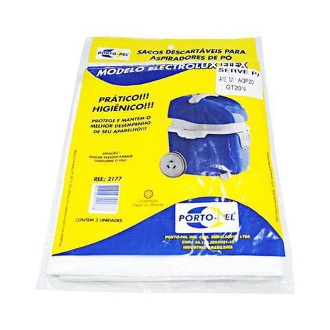 Imagem de Saco Descartável Para Aspirador De Pó Electrolux Flex Com 3 Unidades