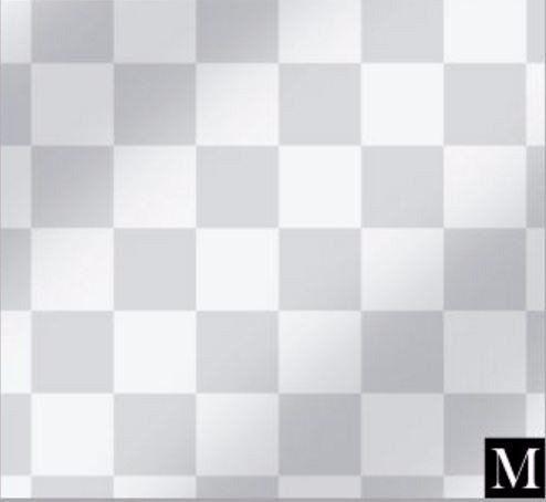 Imagem de Saco metalizado - square prata: 35x55 c/ 50 un