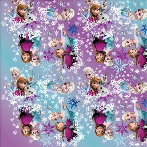 Imagem de Saco P/Presente Frozen Disney 30X44 Cm C/40 Un.