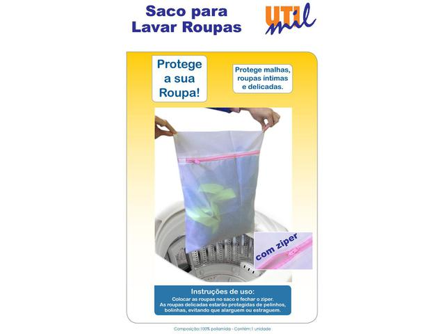 Imagem de Saco para Lavar Roupa Utimil