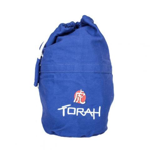 Imagem de Sacola Mochila Torah - Branca / Azul / Preta