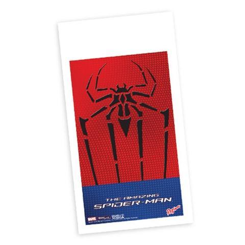 Imagem de Sacola Plástica para Lembrancinha de Aniversário Homem Aranha Amazing 08 unidades Regina Festas