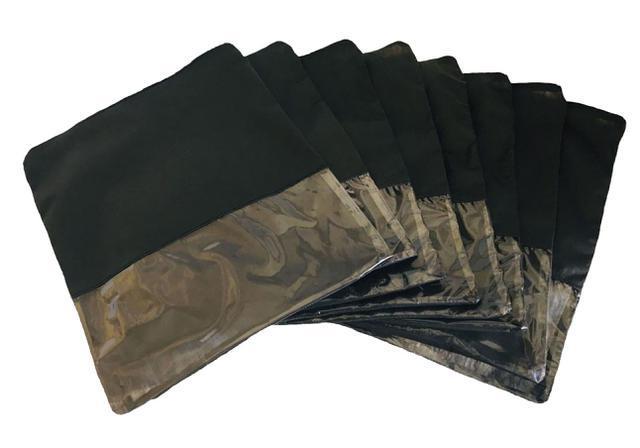Imagem de Sacos Para Sapatos Tnt C/ Zíper Kit Com 20 33cmx40cm Visor G