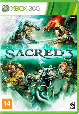 Jogo Sacred 3 - Xbox 360 - Deep Silver