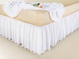 Imagem de Saia cama box queen branca - branco - queen 158 x 198 x 30 cm