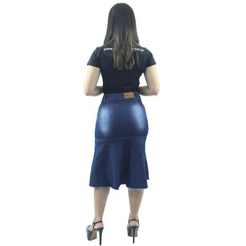 Imagem de Saia Jeans Longuete com Babado Destroyer Anagrom Ref.114