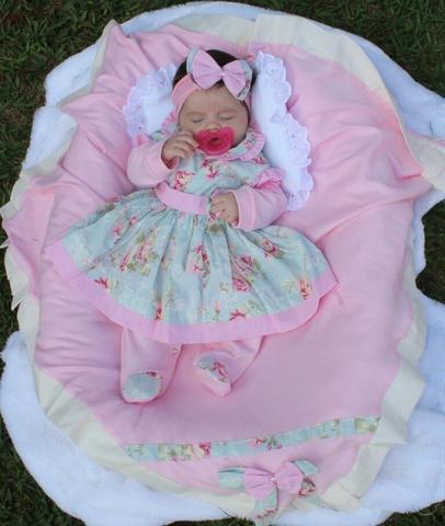 Imagem de Saída de Maternidade Charmosa 5 peças Cor 2