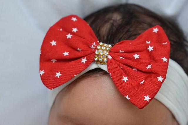 Imagem de Saída de Maternidade Melissa Vermelha Poá 3 Peças