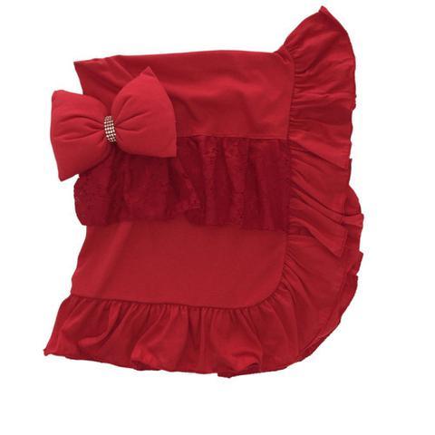 Imagem de Saída Maternidade Menina Vermelha