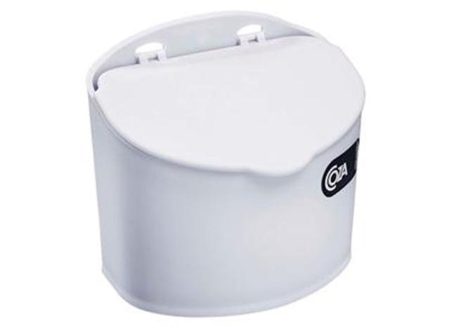 Imagem de Saleiro Plástico 500 g Branco Coza - BRX 412
