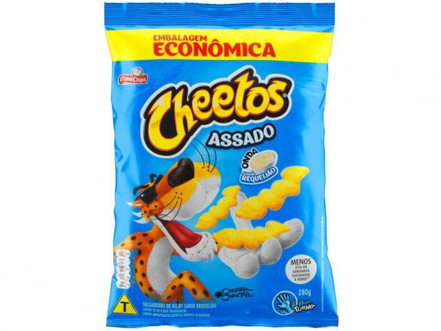 Imagem de Salgadinho Onda Requeijão 280g Cheetos