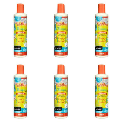Imagem de Salon Line Tôdecacho Kids Shampoo 300ml (Kit C/06)