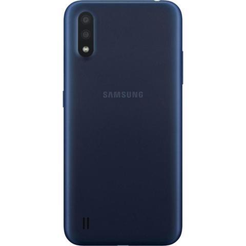 Imagem de Samsung Galaxy A01 32GB 4G Tela 5.7 Octa-Core 2.0 GHz Câmera 13MP - Azul