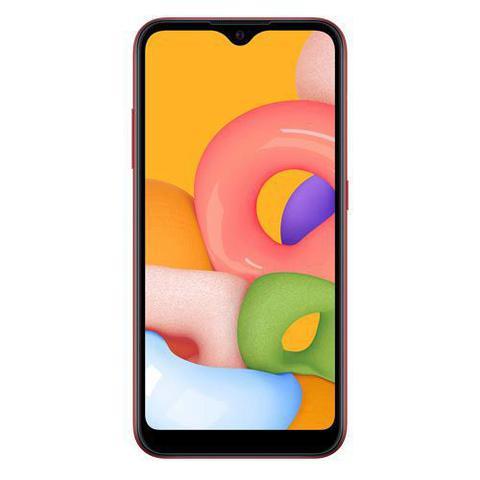 Imagem de Samsung Galaxy A01 Vermelho, com Tela de 5,7