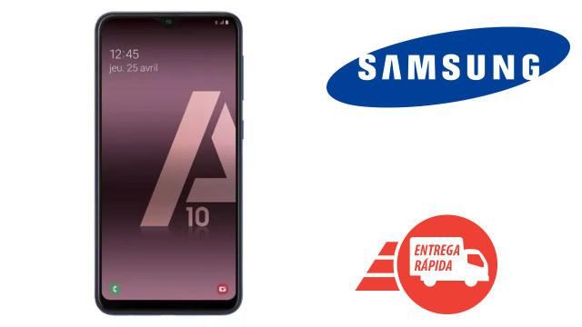 Celular Smartphone Samsung Galaxy A10 A105m 32gb Preto - Dual Chip