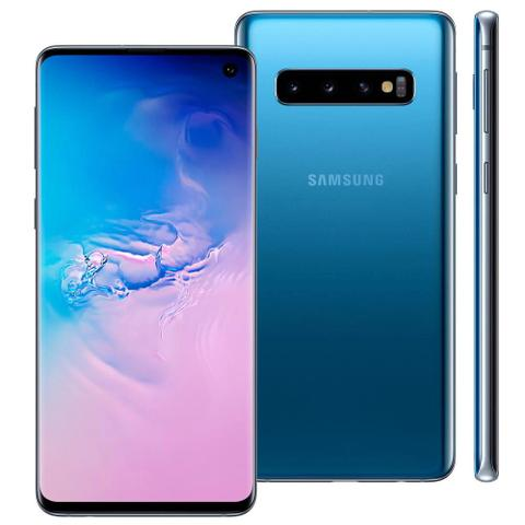 Imagem de Samsung galaxy s10-azul am