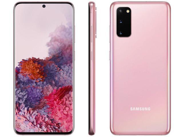 Imagem de Samsung Galaxy S20 Cinza, Tela Infinita de 6,2