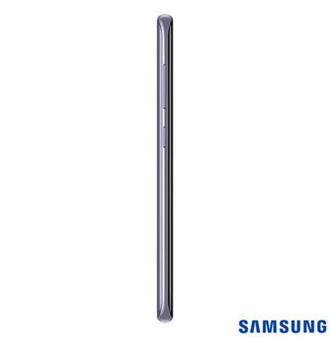 Imagem de Samsung Galaxy S8 Ametista, Tela de 5,8, 4G, 64GB, 12MP SM-G950 + Gear S3 Frontier Preto com 1,3, Pulseira de Silicone