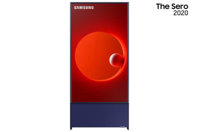 Imagem de Samsung Smart TV QLED 4K LS05T The Sero 2020 Tela Vertical Tap View Potência Sonora Comando de Voz