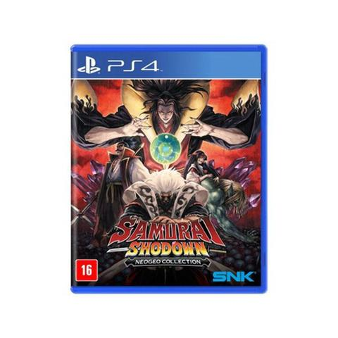 Jogo Samurai Shodown Neogeo Collection - Playstation 4 - Snk