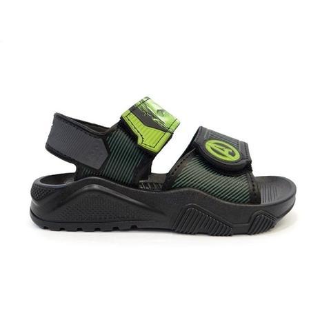 fd36222c6a300a Sandalia avengers station hulk - grendene - preto/verde - Moda para ...