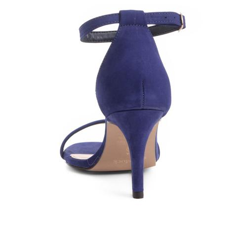12cc82d636 Sandália Couro Shoestock Salto Médio Naked Feminina - Sandália ...
