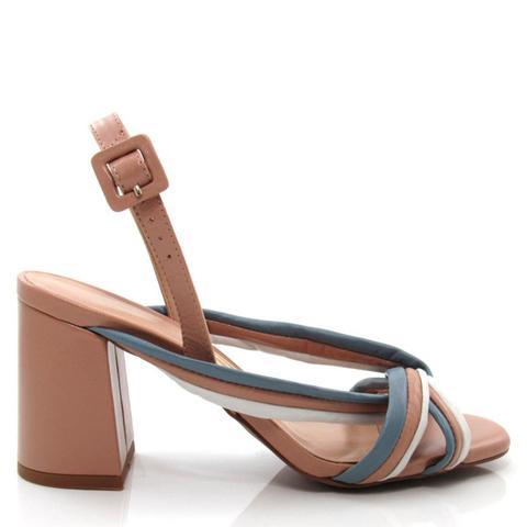 Imagem de Sandália Feminina Salto Grosso Uza Shoes A15b550a0014