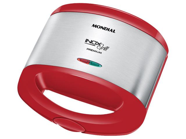 Imagem de Sanduicheira/Grill Mondial Red Premium S-19 800W