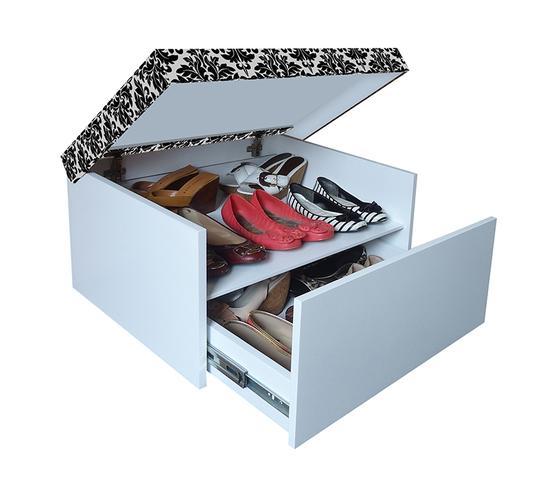 Imagem de Sapateira Box Baú Caixa Organizadora para Sapatos - Fiori