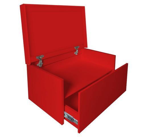 Imagem de Sapateira Box Baú Caixa Organizadora para Sapatos - Vermelho