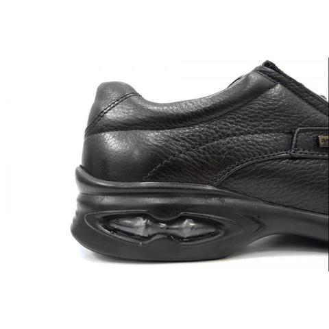 Imagem de Sapato couro c/amortecedor 6622 anatomic gel (09) - preto