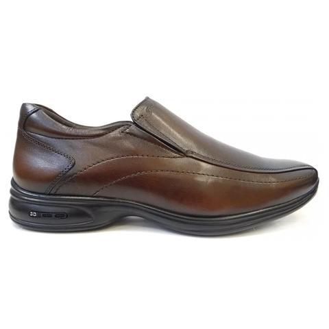 Imagem de Sapato de couro c/amortecedor 30000 jota pe (14) - dark brown
