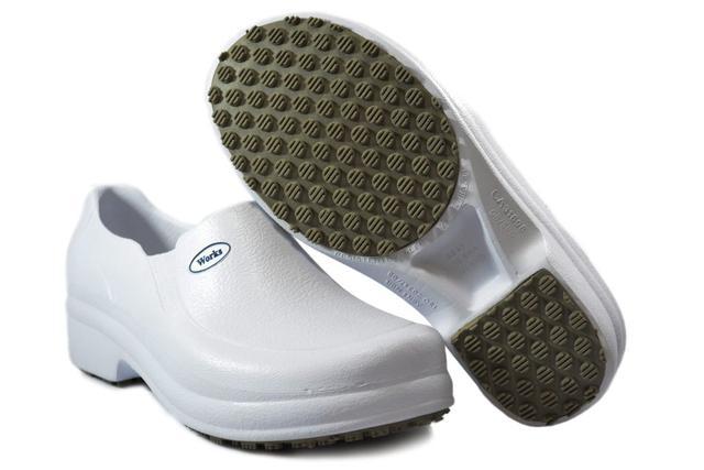 Imagem de Sapato Profissional Babuch BB65 Branco Soft Works