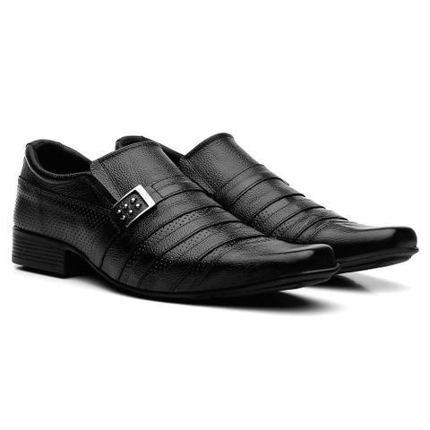 Imagem de Sapatos Social Masculino Em Couro Fran Garcia Fivela Preto