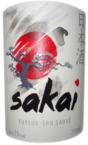 Imagem de Saquê Sakai 750ml